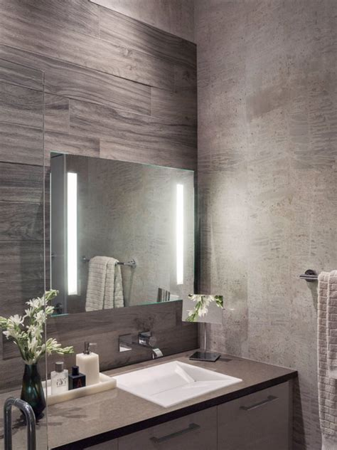 Modern Grey Bathroom Modern Gray White Master Bathroom Contemporary Bathroom San Francisco By