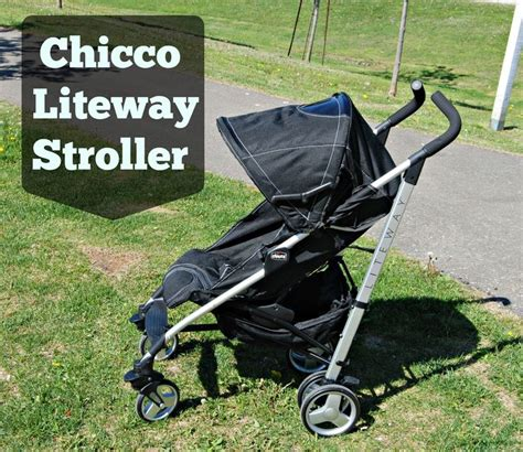 Chicco Giveaway - naturally cracked the chicco liteway stroller makes being