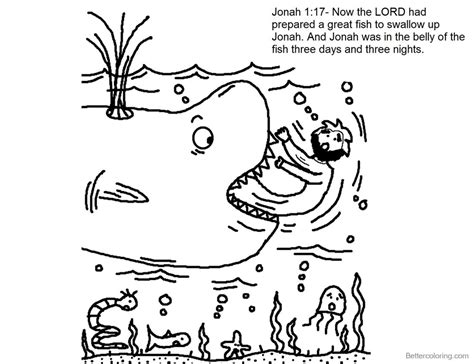 jonah coloring pages story of jonah and the whale coloring pages free