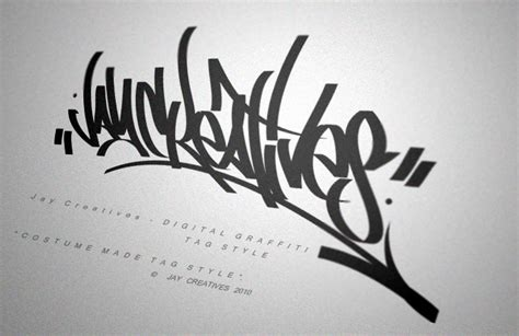 graffiti tag style by orlandobeats on deviantart
