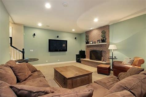 what is a family room basement paint colors green choosing an attractive