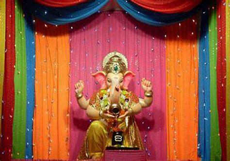 home decoration of ganesh festival ganpati decoration ideas for home the royale