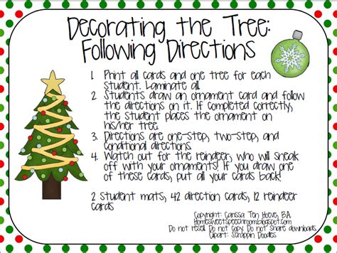 search results for following directions christmas tree