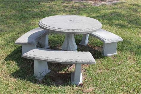 concrete tables and benches precast concrete tables precast concrete benches
