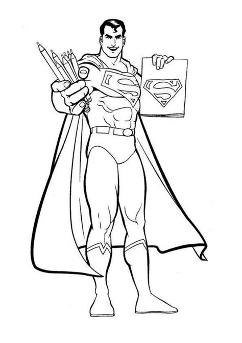 superman coloring pages online free printable superman coloring pages for kids