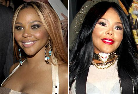 when did tv get color did lil get plastic surgery rapper debuts surprising