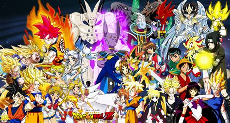 new dragon ball z all characters wallpaper dodskypict