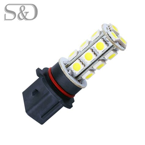 Led Light Bulb Car P13w 18 Smd 5050 White Drl Fog Led Car Bulb L Auto Led Bulb Car Light Source Parking 12v