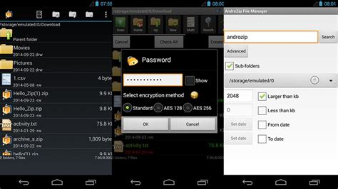 android themes zip files 5 best zip rar and unzip apps for android