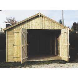 garage voiture bois garage bois tourmalet 1 voiture 18 95 m 178 leroy merlin