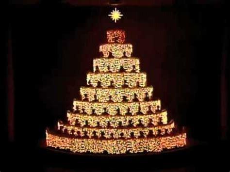 living christmas tree emmanuel medley youtube
