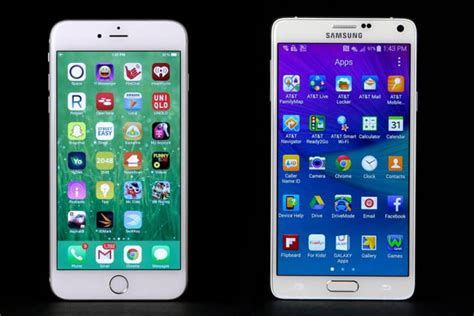 iphone 6s plus vs galaxy note 5 spec comparison digital trends