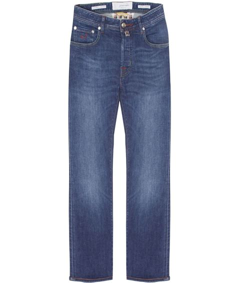 comfort jeans jacob cohen navy slim fit comfort jeans available at jules b