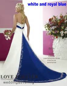 royal blue and silver wedding dresses wedding dresses with trains picture more detailed