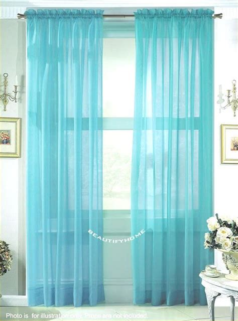 tiffany blue curtain panels currently i have this type of curtain in my bedroom and