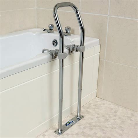bathtub grab rail swedish bath grab rail chrome jpg