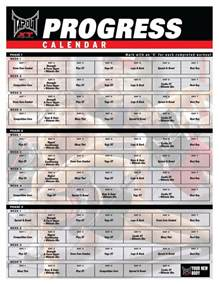 tapout xt training schedule calendar template 2016