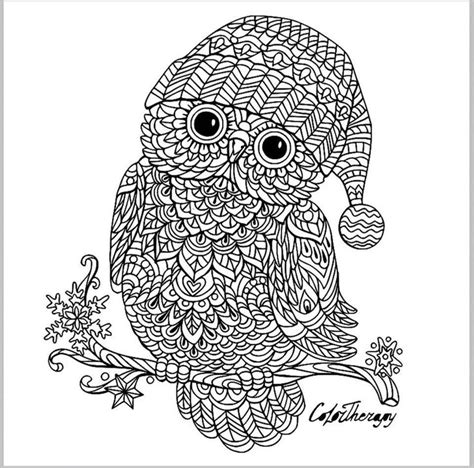 owl zentangle coloring page 17 best images about owl coloring pages for adults on