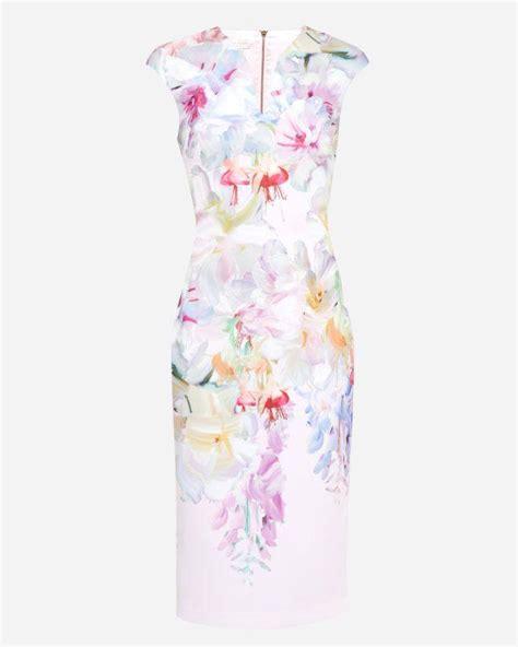 Dress Am Garden Pink hanging gardens bodycon dress baby pink 2713261 weddbook