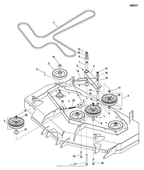 simplicity mower belt diagram simplicity 5900522 citation 26hp briggs stratton zero