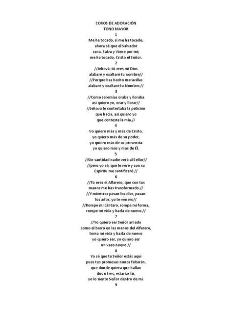 cadenas de coros pentecoste coros de adoraci 243 n mmm