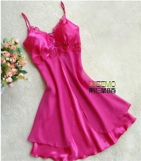 Baju Tidur Satin Koleksi Senorita Baju Tidur Pengantin Pink Pink