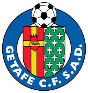 logo klub sepakbola getafe liga spanyol kumpulan logo
