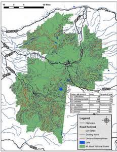 oregon forestry maps logging road maps of oregon