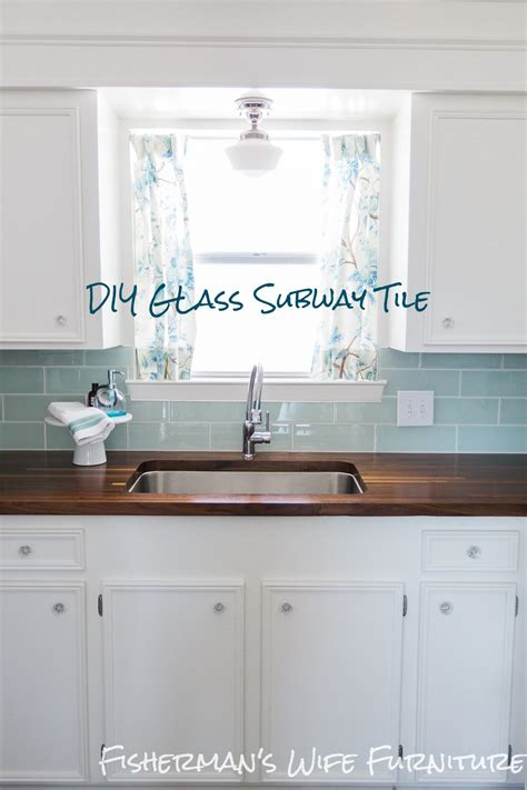 how to install a glass tile backsplash in the kitchen fisherman s furniture glass tile backsplash