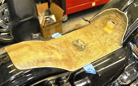 harley davidson glide seat pan custom seat pan for stretched gas tank extended steel road