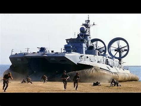 WORLDS LARGEST HOVERCRAFT Russian Zubr class Project 1232