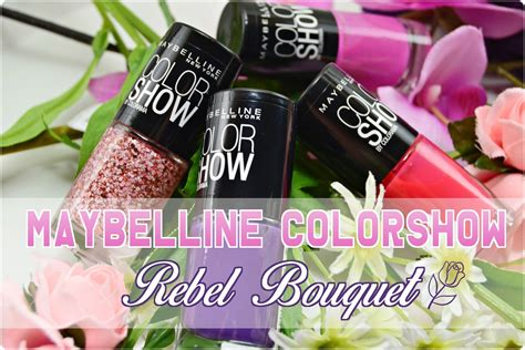 Maybelline Rebel Bouquet maybelline colorshow rebel bouquet m i s s d i f f e r e