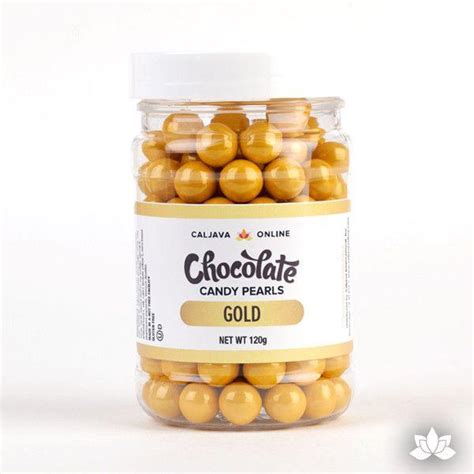 java cocoa gold chocolate pearls gold 9 52mm caljavaonline