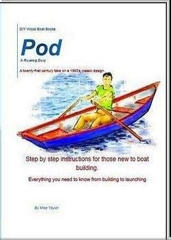 how to build a boat pod rowing boat plans
