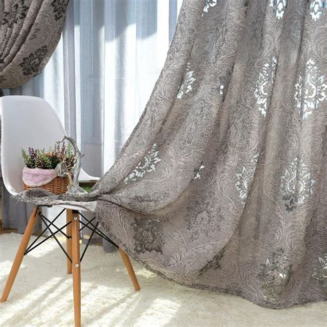 Online Get Cheap Jacquard Curtain Fabric Aliexpress Com
