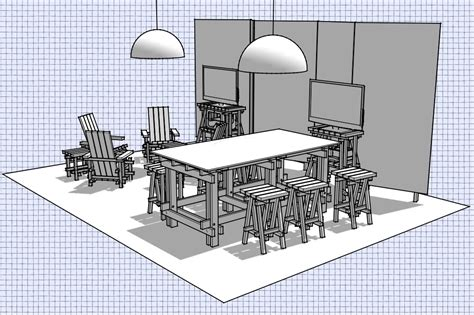 pattern generator sketchup making our space at maker faire bay area sketchup blog
