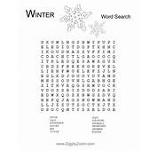 Christmas Crossword Puzzles For Middle School  Printable
