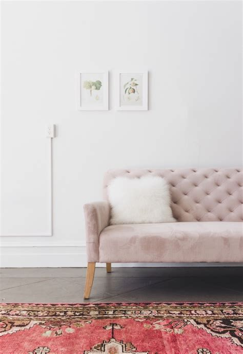 Pink Tufted Sofa Exciting Pink Linen Tufted Vintage Style Pink Tufted Sofa