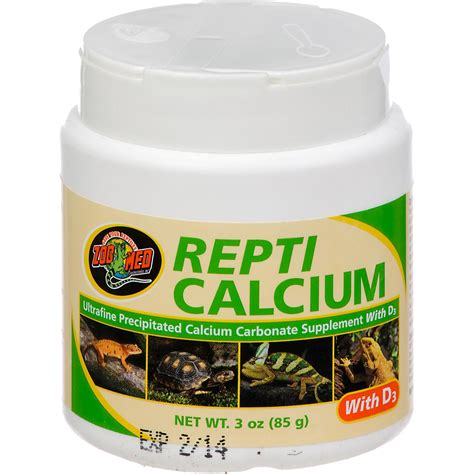 supplement with zoo med repti calcium with d3 reptile supplement petco