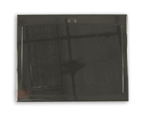 whirlpool black whirlpool wde350lvb0 main glass cooktop replacement