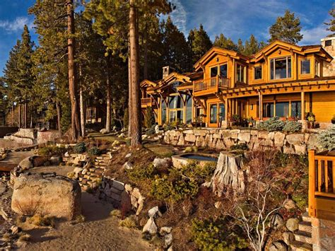 larry house the 28 5 million lake tahoe house larry ellison put up for sale business insider