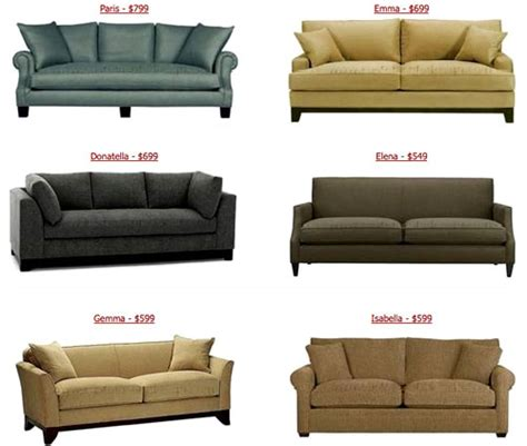 couch for less the look for less cheap couches from custom sofa design