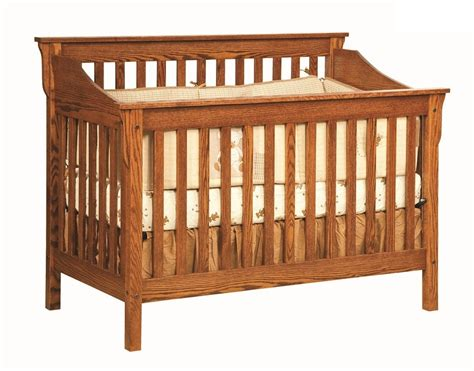 Crib Slats by Cribs Amish Furniture Gallery In Lockport Il
