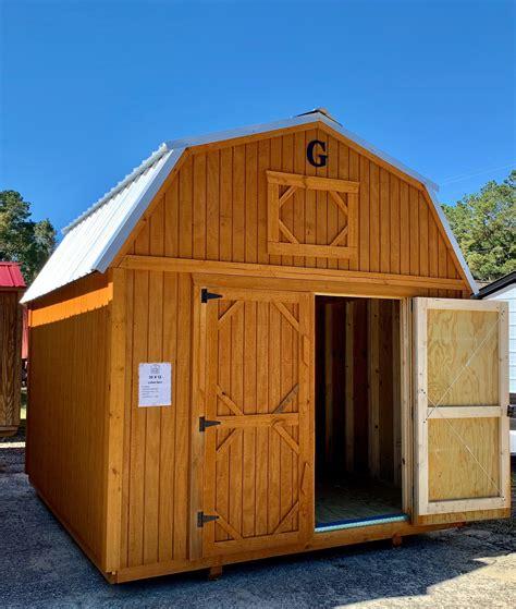 lofted barn shed      storage buildling