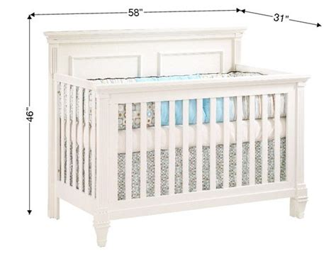 Toddler Bed Measurements by Baby Crib Dimensions Search Goodies