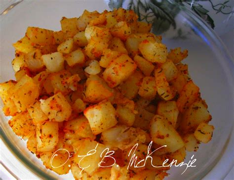 oven baked home fries sweet n savory
