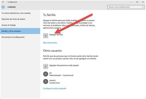 quitar imagenes cuenta windows 10 como configurar el control parental en windows 10