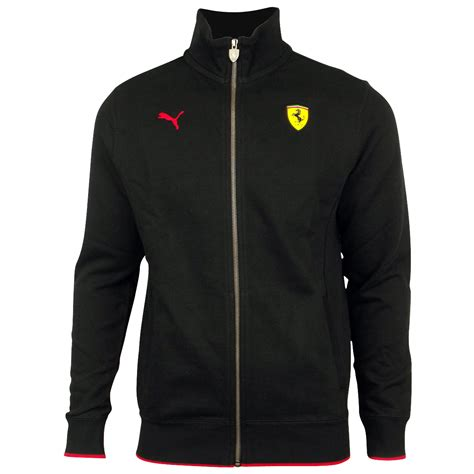 Men Puma Scuderia Ferrari Sf Formula 1 Black Track Top