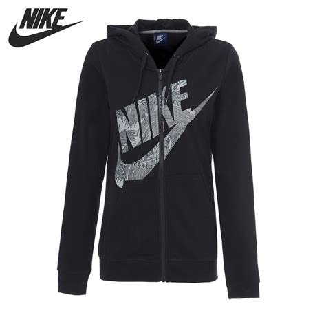 Jaket Nike Original Hoodie original new arrival 2017 nike w nsw hoodie fz rstr ftr s jacket hooded sportswear in