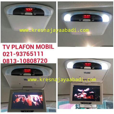 Tv Untuk Jok Mobil jual monitor tv roof plafon mobil kresna car accesories